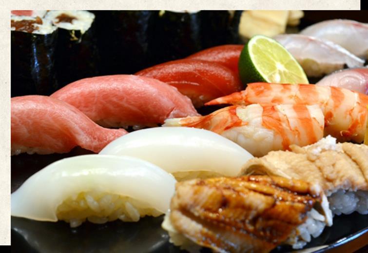 出前寿司メニューのイメージ画像
