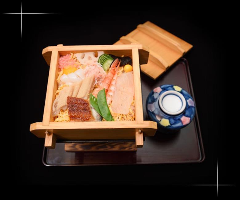 蒸し寿司(茶碗蒸し付)のメニュー写真